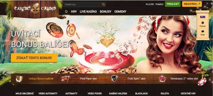 home page caribic casino