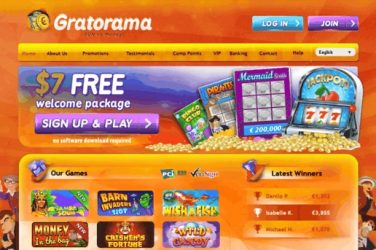 gratorama casino news item
